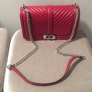 Rebecca Minkoff Red Love Crossbody Shoulder Bag